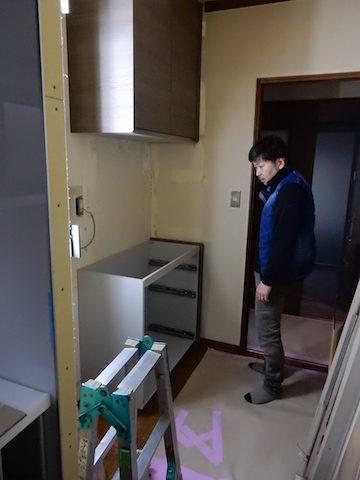 塩尻市k様キッチンリフォーム工事